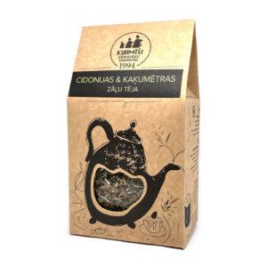 Cidonijas un Kaķumētras zāļu tēja 50g