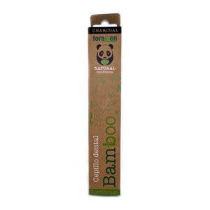 Foramen Charcoal bambusa zobu birste ar aktīvo ogli