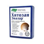 Hitozan-Evalar® tabletes N100