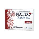 NATEO® D kapsulas 2000 N30