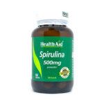 HealthAid® Spirulina 500mg tabletes N60