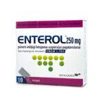 ENTEROL 250 mg pulveris iekšķīgi lietojamas suspensijas pagatavošanai N10