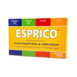 ESPRICO® košļājamās augļu kapsulas N60