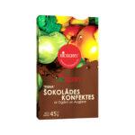 RICBERRY Piena šokolādes konfektes ar ogām un augļiem 45g