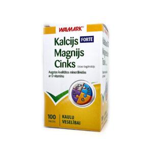 WALMARK Kalcijs-Magnijs-Cinks FORTE tabletes N100